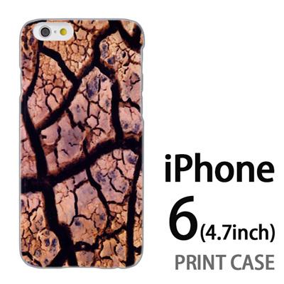 iPhone6 (4.7インチ) 用『No4 ひび割れ』特殊印刷ケース【 iphone6 iphone アイフォン アイフォン6 au docomo softbank Apple ケース プリント カバー スマホケース スマホカバー 】の画像