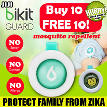 ★PROTECTION!★ Korean Bikit Guard Clip MOSQUITO Insect Repellent for adult and children 100% Natural ★ Cartoon Stylish ★ [JIJI]