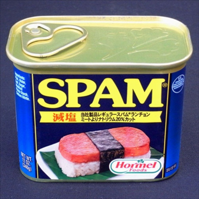 スパム340g 1缶 SPAM ポークランチョンミート 減塩の画像