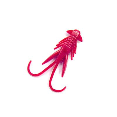 バークレイ (Berkley) MPIH1-RD パワーインチホッグ(レッド 1.5インチ小型パッケージ) 1253175 [分類:バスルアー ソルトルアー クローワーム]の画像
