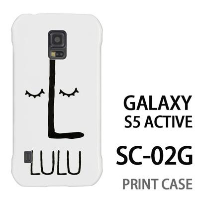 GALAXY S5 Active SC-02G 用『0623 「L」』特殊印刷ケース【 galaxy s5 active SC-02G sc02g SC02G galaxys5 ギャラクシー ギャラクシーs5 アクティブ docomo ケース プリント カバー スマホケース スマホカバー】の画像