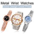 ★HIYOU★[Wrist Watch] Steel Stainless Metal Wrist Watches/Outdoor Fashion Watch/Mi/Movement Watch/Jewelry