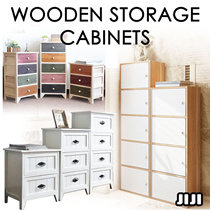★Wooden Storage Cabinet★Chest Drawers ★Wooden★Colourful ★Space saving★Multi functional★