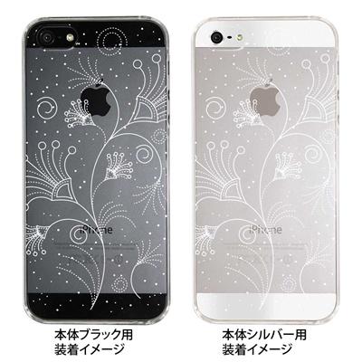 【iPhone5S】【iPhone5】【Clear Fashion】【iPhone5ケース】【カバー】【スマホケース】【クリアケース】【フラワー】 22-ip5-ca0044の画像