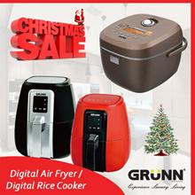 🎄⚡{CHRISTMAS SUPER SALE!!!}  GRUNN DIGITAL AIR FRYER / RICE COOKER