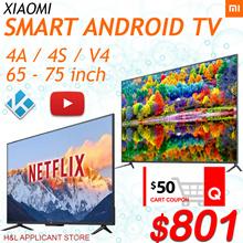 Smart android MI tv 65 inch 75 inch 4K 1 Year Warranty