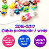 ★BUY 6 GET 1 FREE★2017 Latest Cartoon Cable Protector★LOWEST PRICE★Celestly★