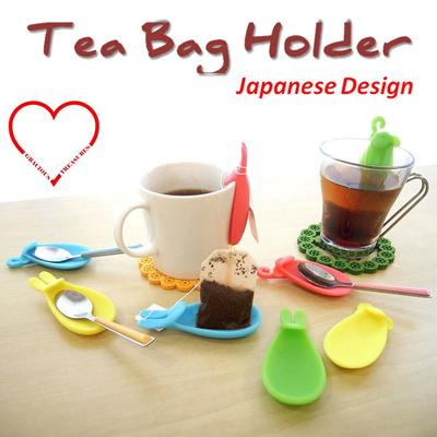 Qoo10 - Multifunctional Silicone Tea bag holder Cute Rabbit Ear Design /  Snail... : Kitchen & Dining