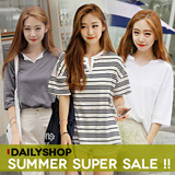 Launching Sale!! ★dailyshop★ Korea Open Market Best Selling Tee / loose fit T-shirts