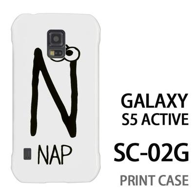 GALAXY S5 Active SC-02G 用『0623 「N」』特殊印刷ケース【 galaxy s5 active SC-02G sc02g SC02G galaxys5 ギャラクシー ギャラクシーs5 アクティブ docomo ケース プリント カバー スマホケース スマホカバー】の画像