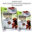[BUY 1 GET 1] ~Chekhup 3in1 Kokoo Hot Chocolate With Hazelnut isi 15sachet~
