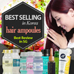 ★BEST OF BEST in KR ★ Korean Best Seliing Hair AMPOULES ▶ Salon care system for all hair type