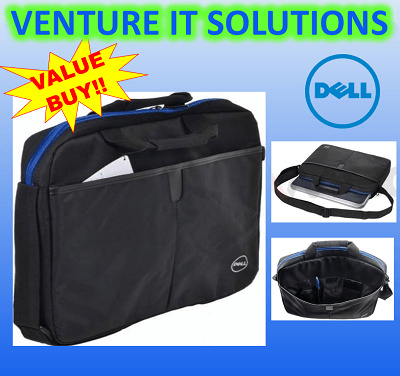 Qoo10 - Dell Laptop Sling Bag 04P1DY(Black) : Computer & Game