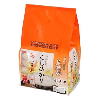 お米 新潟県産 コシヒカリ 4.5kg (一等米100%)の画像