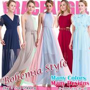 [Formal Dress]2017 New Designs Bohemia Style Maxi Dress S~XXXL Long Dress Plus Size evening dress