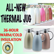 Elegant and great design Thermal Jug/Kettle/Bottle/Flask for coffee/hot tea/hot water/cold/warm drinks