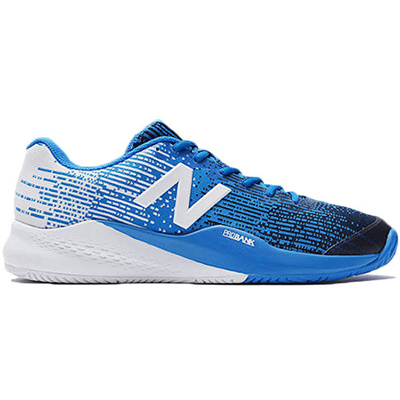 ニューバランス(newbalance)メンズテニスシューズオールコート用ブルーMC996UE34E【テニスシューズオールコート】