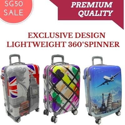 Buy **LUGGAGE SALE** Lightweight Exclusive Design Hardcase 4 Wheel ...
