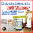 ★Washable★ [Mommy Roll Cleaner] Made in 25000 times Reusable Handy/Mop type pet dust m roll cleaner