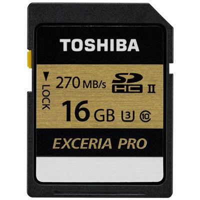 東芝SDHCカードEXCERIAPRO【16GB】SDXU-C016G