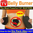 The NEW AMAZING Weight-Loss BEITS ★燃脂减肥瘦身腰带★ Tummy Burner/Fat Cellulite Burner/Waist Trimmer★Fat Burning/Slimming/Remove Excess Fat/Effective way to get Perfect Six Pack Abs