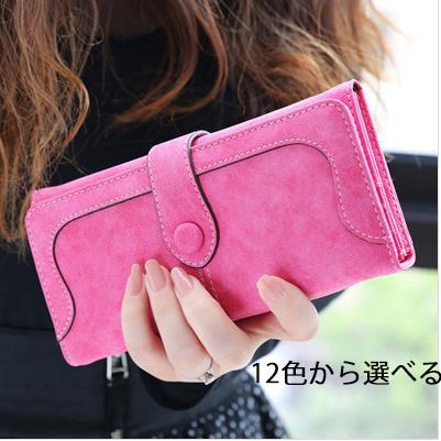 財布 レディース財布 レディースファッション 女の子 韓国ファッション 財布 レディース 二つ折り財布 コインケース/お札入れ/カードケース 高級 レザー ラウンドファスナー 婦人財布学