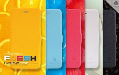 iPhone6カバーアイホン6 アイフォン6ケースiphoneケース アイフォン ブランド iphoneカバーiPhone6用 【iPhone6 4.7インチ】アップルアイフォン6対応Fresh Nillkin Diary (Nillkin ビビッドダイアリー) Case for iPhone 6【レビューを書いてメール便送料無料】の画像