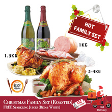 Christmas FAMILY SET Hot/Chilled Delivery [Christmas Special] Last day of order: 19th Dec