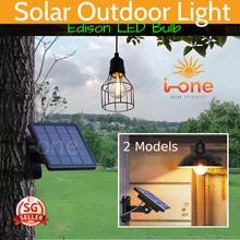 Tungsten Edison LED Bulb Solar Light Bulb  WATERPROOF OUTDOOR EMERGENCY