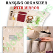 ★Ready Stocks In SG★ Hanging Organizer with 20 Pockets and Mirror * Wardrobe Organizer * Ideal for Display * Storage Organizer * Etc * Immediate Delivery
