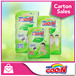 [FREE GIFTS!! 1Pack GOO.N Wipes]★GOON★ GOO.N Cheerful Baby Pants x 4packs