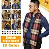 [SEASON SALE]◆Winter British Styles Mufflers for Men-32x190 CM◆Scarf for Gentlemen/ 19 colors
