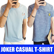 2017 Mens Fashion joker Casual  Short sleeve T-shirt
