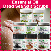 70% OFF - Essential Oil Dead Sea Salt Scrub 250g  ★Made in USA★ Arabica Coffee/ Argan Oil/ Coconut