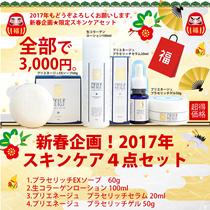 新春企画★白くま化粧品【限定★豪華スキンケア4点セット】衝撃70%OFF