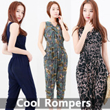 [Today Deal] Cool Jump Suit / Rompers★FREE SHIPPING! SUPER DEAL PRICE!★2015 New Design Korean Cool Pants / [UP TO 75% OFF - best selling in Korean pants Collection] Customer Satisfaction