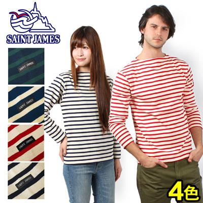 S.JMS セントジェームス OUESSANT 0251 ロングスリーブ バスクシャツの画像