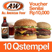 [Q-stempel Special] Only 10 Q-stempel ! AW Gift Certificate RP100000
