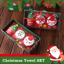 ❣XMAS GIFT IDEAS❣★Christmas Towels Set ★ Towel gift Set/ Santa / Snowman / Christmas Tree