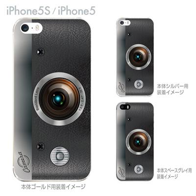 【iPhone5S】【iPhone5】【iPhone5sケース】【iPhone5ケース】【カバー】【スマホケース】【クリアケース】【クリアーアーツ】【カメラ】 06-ip5s-ca0131の画像