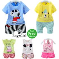 Buy 2 Free Shipping Girls T-shirts Boys Tops Shirts Kids Fashion 2 Piece Sets children Clothing