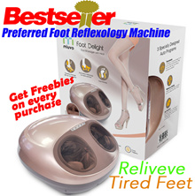 Pamper Your Loves Ones! ★BEST SELLER★ NEW IMPROVED Foot Delight Foot Massager★ LOCAL SG warranty★