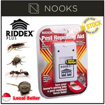 [CRAZY SALE]★RIDDEX Insect Repeller★Ultrasonic Technology/Rid You Home With Unwanted Pests
