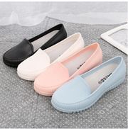Korea Slip Peas shoes Waterproof Shoes