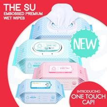 [YK]【RESTOCKED! + FREE SHIPPING!】THE SU - Premium embossed wet wipes! | Made in Korea