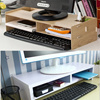 Monitor stand/shelf/dual/keyboard storage/Computer Accessories/Posture Correction/Vertebrae Protection/desk/high quality/lcd Multi Box/Monitor cradle/Computer Accessories/Laptop stand/Wood Monitor