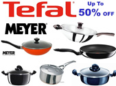 TEFAL Pans and SUPOR Cookware Fry and Wokpans