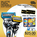 [PnG] GILLETTE FUSION PROSHIELD Bring Her To The Movies Deal! [GV TICKETS FULLY REDEEMED]
