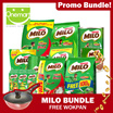 ★ FREE 26cm WOKPAN (Made in Korea/Worth $79)★MILO CNY PROMO PACK! MILO CHAMPIONS PACK / 3 in 1 / 900g + 100g Refill / UHT 200ml