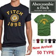 New Arrival! [Abercrombie n Fitch]limited offer Fitch Free Shipping Abercrombie Fitch Mens T-shirt (parallel import goods)New wit tag!